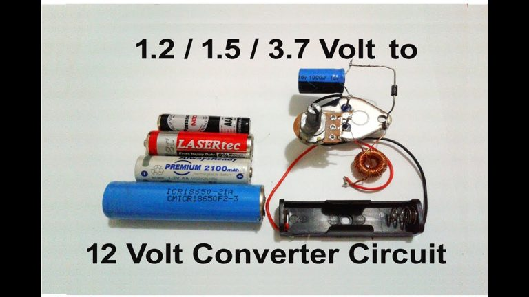 DC TO DC BOOSTER 1.5 V TO 12 V