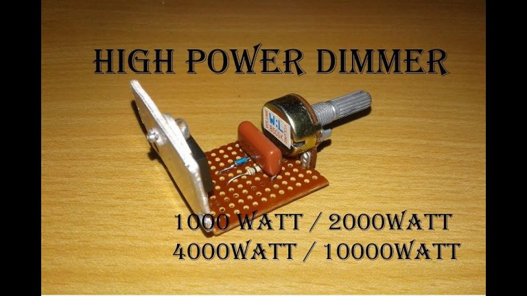 HIGH POWER DIMMER 10000 WATT
