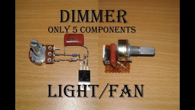 SIMPLE LIGHT DIMMER