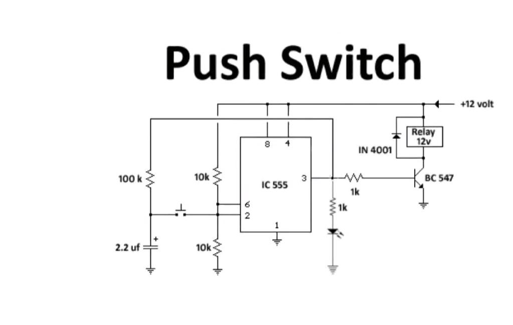 Push Switch Circuit