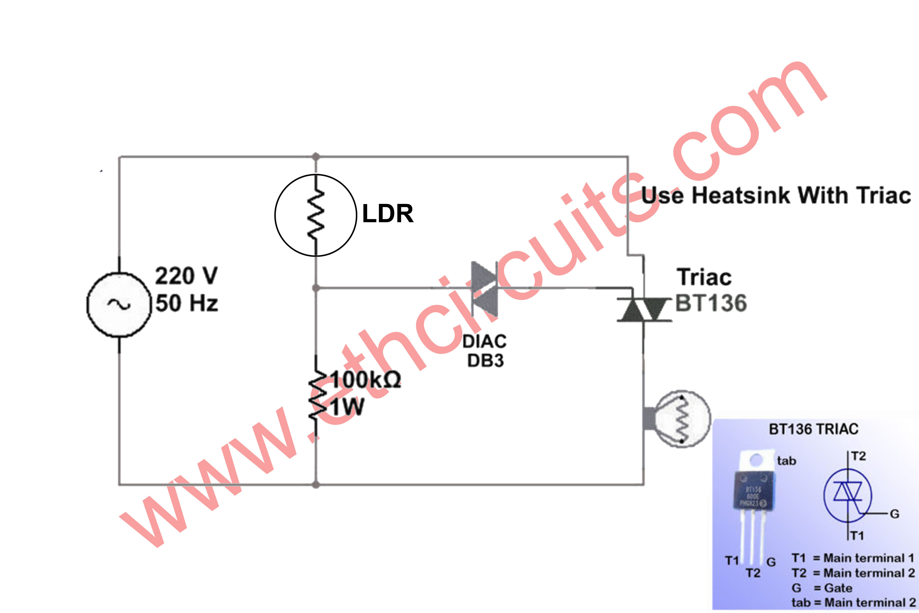 Automatic Street Light Controller Circuit Diagram Wiring Diagram