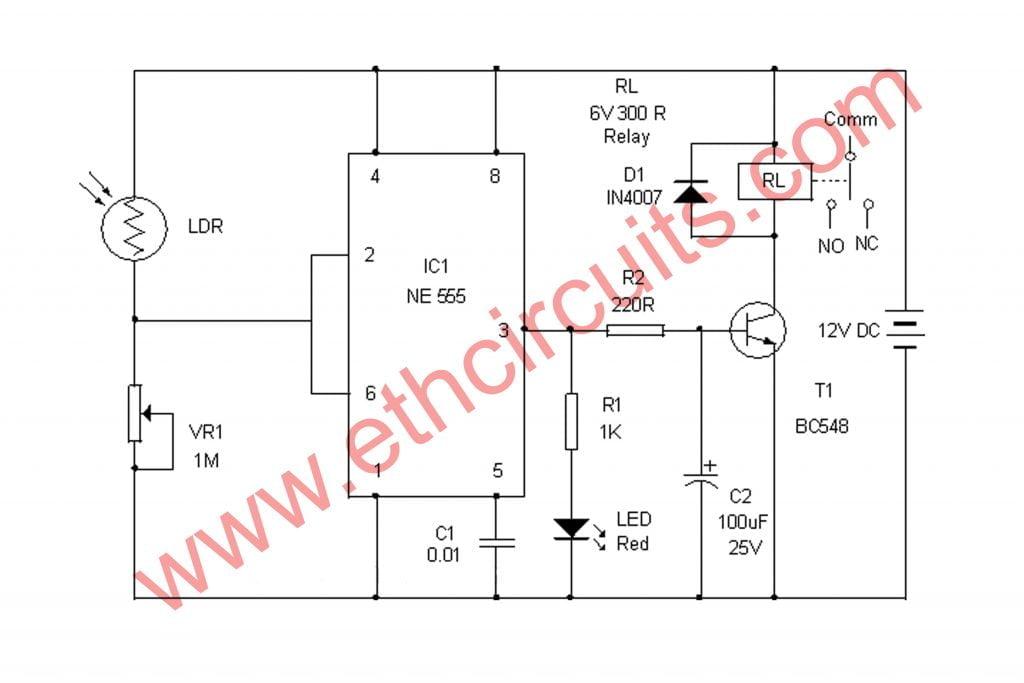 Automatic street light controller - Electronics ...
