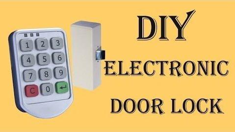 Digital Password Door Lock Circuit