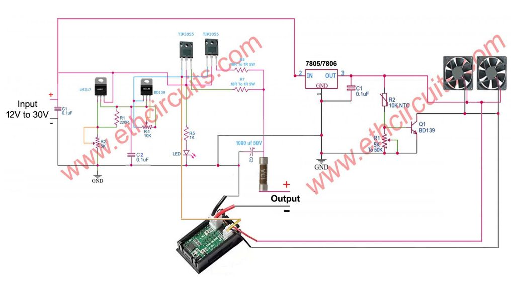 Bench Power Supply/Battery Charger