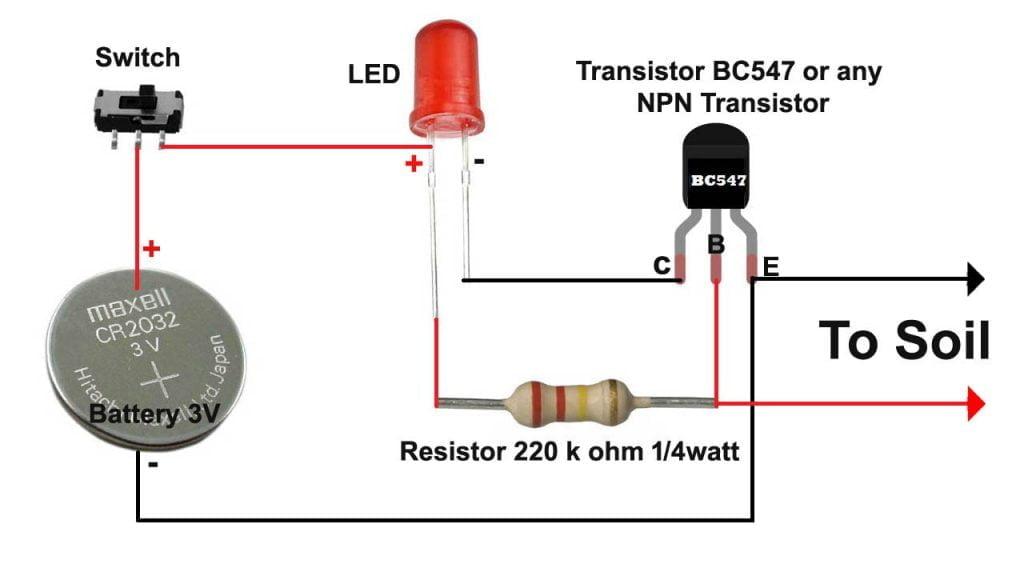 soil moisture sensor circuit daigram