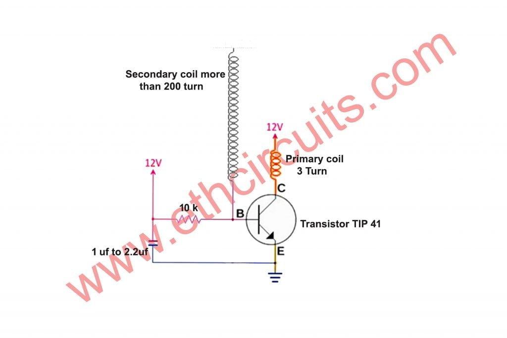 Best Tesla Coil Circuit Diagram