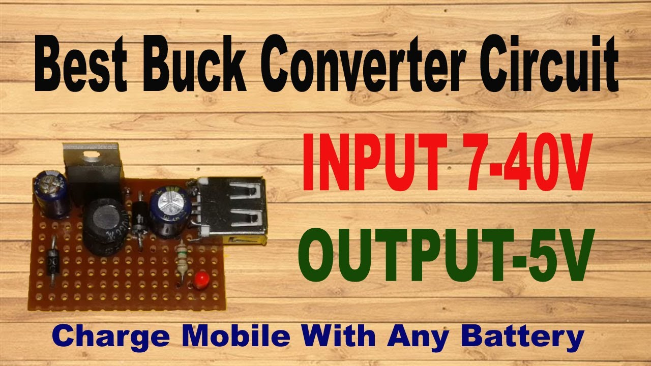 1 amp buck converter with lm2575