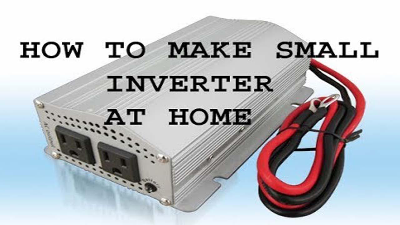 100 Watt Inverter Circuit 50HZ Frequency