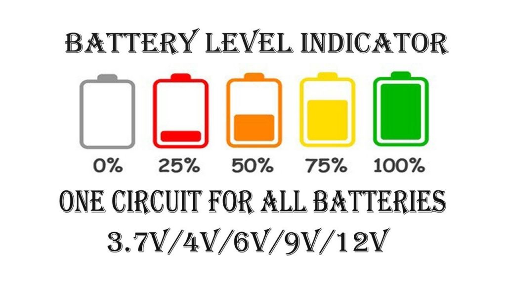 Battrey Voltage Level Indicator