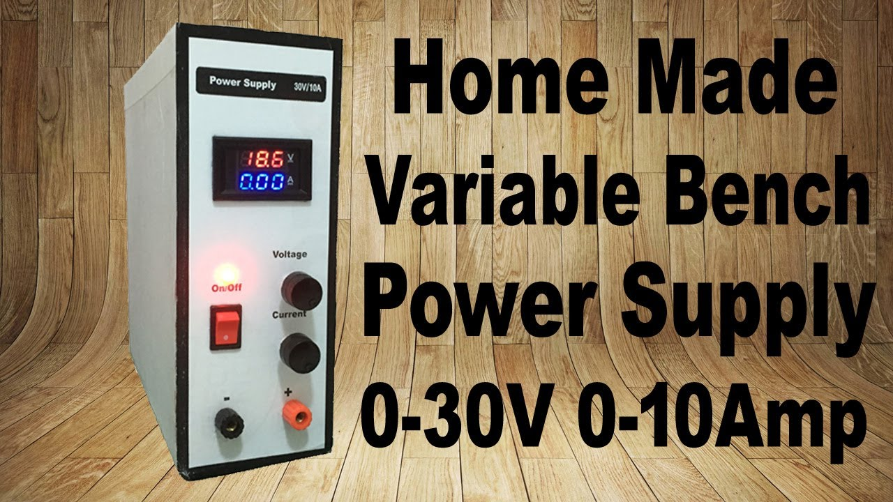 DIY Bench Power Supply Circuit