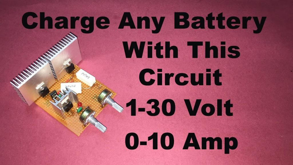 High Ampere Variable DC Power Supply
