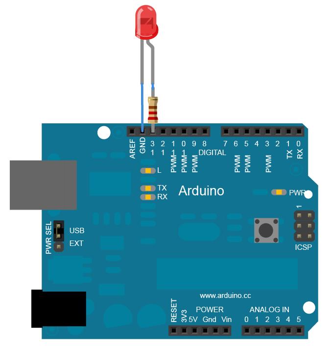 arduino Blinking LED Code