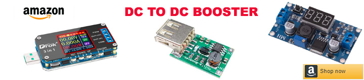 DC TO DC Booster Module amazon