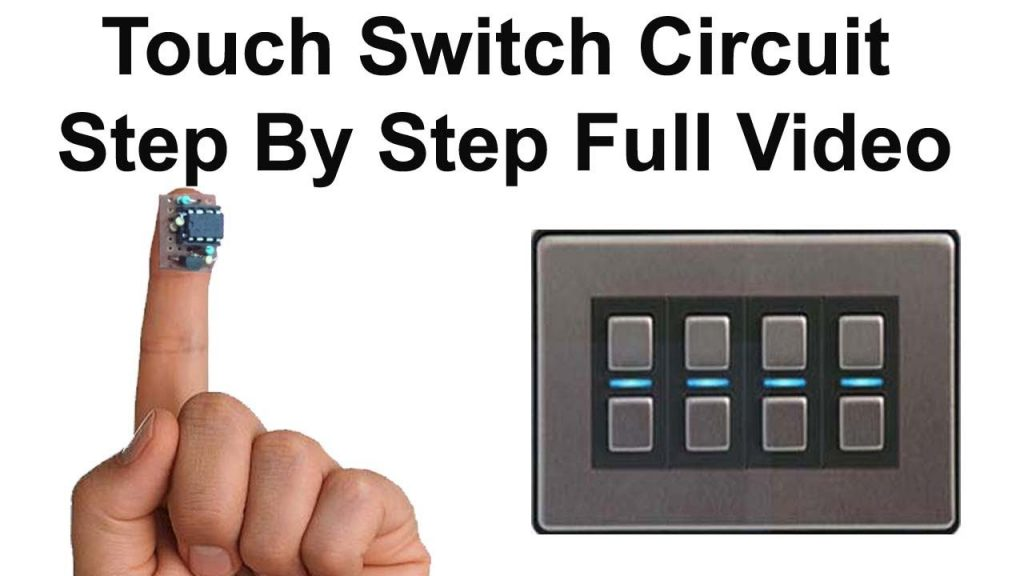 Simple Touch Switch circuit diagram