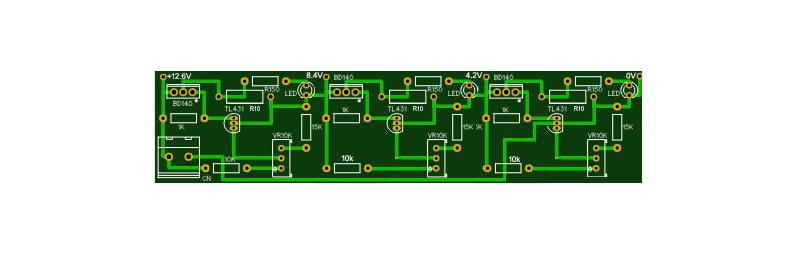 battery management system circuit diagram