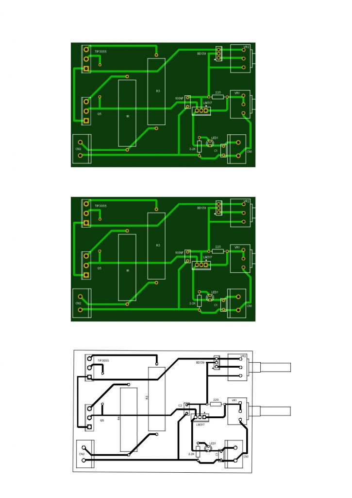 bench power supply pcb layout