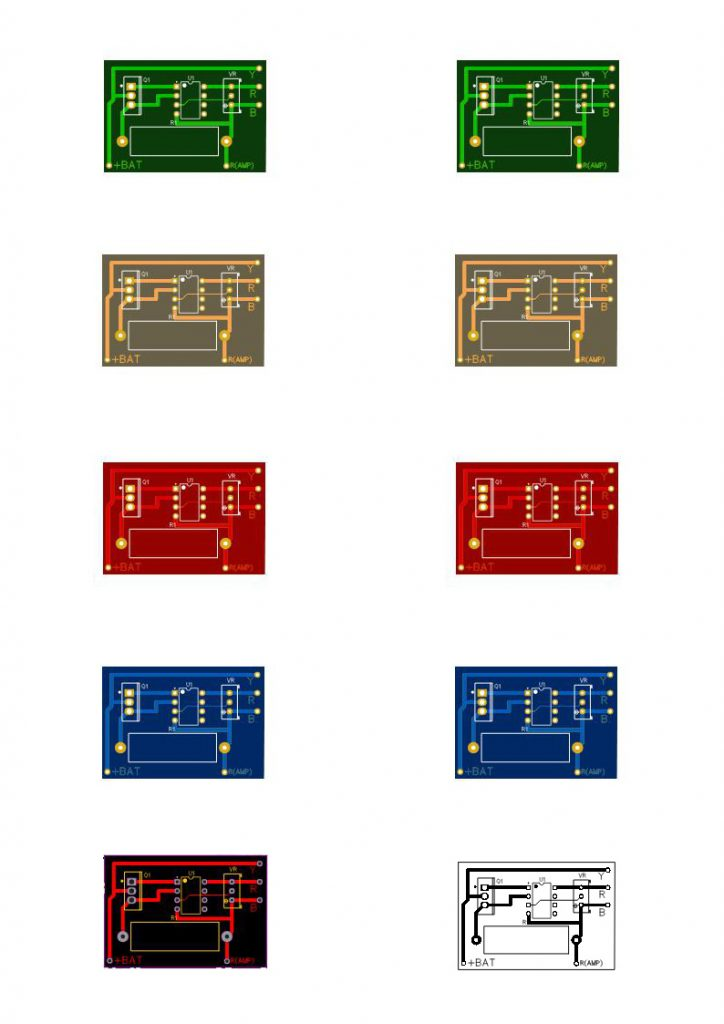 pcb layout for dummy dc constant load circuit