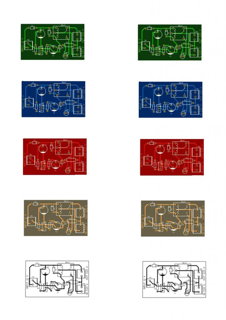 over voltage protection pcb layout