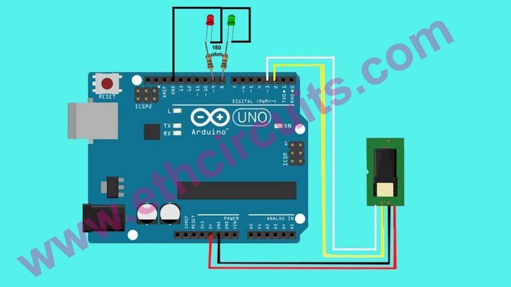 arduino fingerprint scanner connection diagram with arduino uno connection diagram with arduino uno