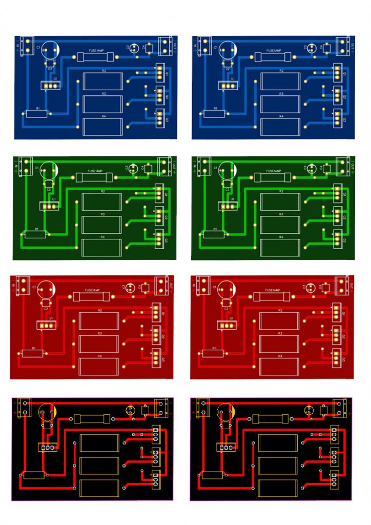 PCB Layout For high ampere supply