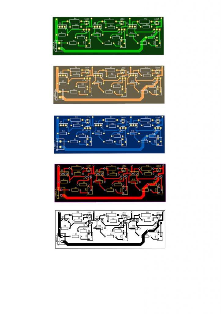 pcb layout for diy bms circuit diagram